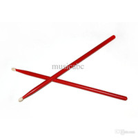 Wholesale NEW Homeland Musical Band Red Maple Wood Drum Sticks