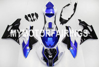 Wholesale Fit BMW S1000RR Year ABS Motorcycle Fairing Kit Bodywork Motorbike Parts Cowling HP4 White Blue