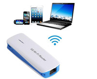 Wholesale Hot sale in1 Mbps Mini USB G WIFI Mobile Wireless Router Hotspot mAh Powerbank