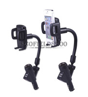 Wholesale Adjustable USB Car Charger Holder Charing Dock for Galaxy S3 smartphones MP3 PDA