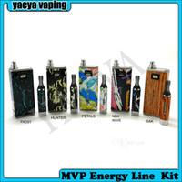 Wholesale Original Innokin iTaste MVP Energy Line Kit Electronic Cigarette VV VW With Shine Color Vape Mod Set