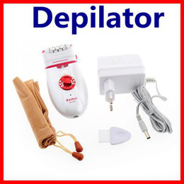 Wholesale Kemei Dual Heads Depilator Hair Removal System wit New Pain Reduction Technology