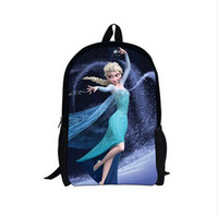 Polyester best little bags - Frozen Cartoon beautiful Small Student little girl School bags Elsa backpacks Children kids Like The Best