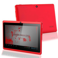 Dual Core 5 inch tablet - Allwinner A23 inch Cheap Tablet Q88 Dual Core Android Tablet MB GB dual cameras colors