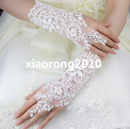 Wholesale Bridal Jewelry Exclusive Original Handmade Lace Bracelets Bride Gloves Wedding Accessories