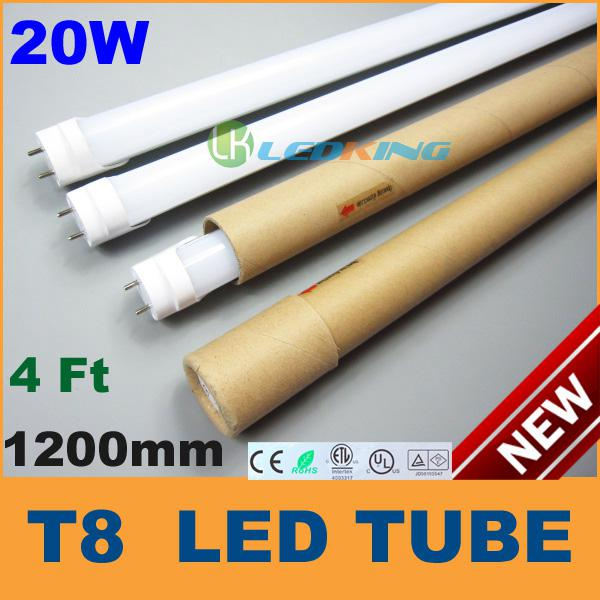 New T8 LED Tube Light 20W 4ft 1200mm 1.2m LED Fluorescent ...