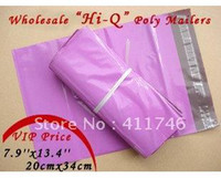 Poly Yes R20-34-1000 wholesale 1000pcs PURPLISH RED poly mailers poly envelopes mailing bags express envelopes!20cmx34cm 7.9'' x 13.4''
