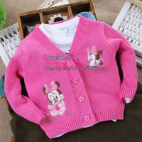 Cardigan children fashion sweater - Girls Casual Coat Knitted Sweaters Kids Clothes Fashion Cardigan Sweater Coat Girls Cardigan Wool Sweaters Baby Clothing Children Cardigan