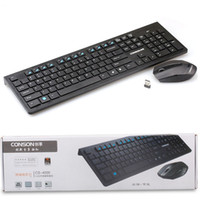 Wholesale 2014 New Arrive Ultrathin G Wireless DPI Keyboard Mouse Kit For PC Laptop Mac Freeshipping amp
