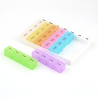 Plastic other Eco Friendly 3Set 7 Day Pill Medicine Tablet Box Dispenser Organizer Case with 28 compartments New Hot Selling