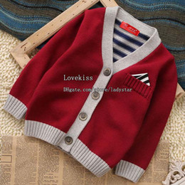 Wholesale Kids Cardigan Baby Cardigan Baby Boys Clothes Boys Sweaters Children Cardigan Kids Sweaters Toddler Cardigan Child Clothing Boys Cardigan