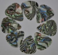 Celluloid abalone guitar pick - of Medium mm guitar picks Plectrums Celluloid Abalone Seashell