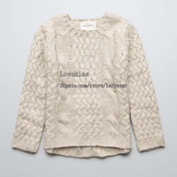 kids winter sweater - Pullover Sweaters Girls Pullover Children Clothing Knitted Sweaters Children Sweater Pullover Wool Sweaters Child Clothes Kids Pullover