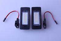 Rear audi a4 - PAIR FREE ERROR LED LICENSE PLATE LIGHT FOR AUDI A4 B8 A5 S5 TT Q5 PASSAT R36