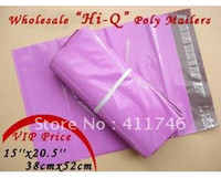 Poly Yes R38-52-600 wholesale 38cmx52cm 15'' x 20.5'' PURPLISH RED Poly Mailers Envelopes Shipping Bags 600pcs