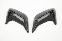 Wholesale Car sticker x Car Auto Side Vent Air Flow Fender Intake Sticker black Universal Decorative