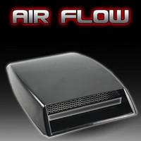 Wholesale black Universal Car decorative Air Flow Intake Scoop Turbo Bonnet Vent Cover hood decorate