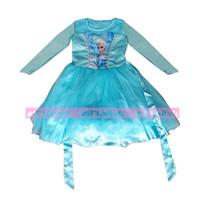 Cheap TuTu dress girl Best Summer Sheath elsa dress