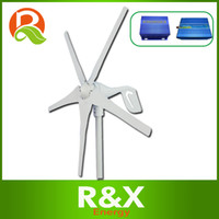 Wholesale 600w max wind power generator with blades Combine with wind solar hybrid controller w off grid inverter