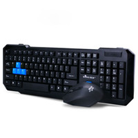 Wholesale 2014 New Arrive G Wireless DPI Gaming Mouse Keyboard Kit For PC Laptop Mac Freeshipping amp
