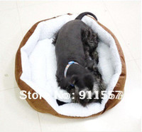 Wholesale Hot selling Small wool materials pet bed and dog bed H0008