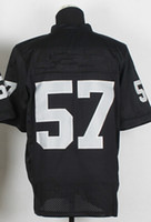Wholesale New Elite Jerseys Jersey Size Black White Stitched Mix Match Order American Football JERSEY