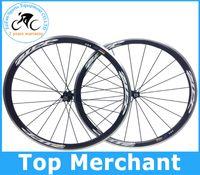 Wholesale 2014 Alloy brake surface carbon road bike Wheels Wheelset mm rim c full carbon fiber road bike racing bicycle