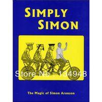 magic card tricks - Simply Simon by Simon Aronson Card magic magic tricks fast delivery Very good card magic book