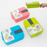 Wholesale Homio ML High Quality Lunch box Food Container For Kids Can Be Used In The School cm Colors