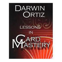 Wholesale Darwin Ortiz Lessons In Card Mastery Only pdf file send via email Card magic