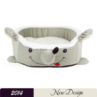 Wholesale Unique Dog Beds Winter Cartoon Mouse Pet Dog House Warm And Comfortable Pet Beds PP Cotton Padded Lovely Pet Dog Kennels