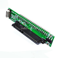 Wholesale 10Pcs Big Discount New quot SATA HDD to Pin Male IDE Adapter Converter Min Male IDE Adapter B16