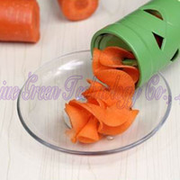 Peelers & Zesters Plastic ECO Friendly 1set New Multi-Function Vegetable Fruit Twister Cutter Slicer Processing Kitchen Utensil Tools