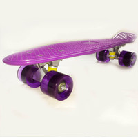 22 inch penny boards - 22 quot Penny Skateboards Purple Decks Three Wheels Penny board Skateboard Penny board Penny nickel skateboard Penny nickel