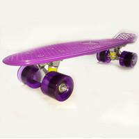 "22 inch High Performence Abec-7 Balling Bearings Alu Alloy 22"" Penny Skateboards Purple Decks Three Wheels Penny board Skateboard Penny board Penny nickel skateboard Penny nickel"