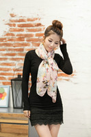 160*60cm air condition used - 160 cm New Fashion Multicolor Thin Cape Lengthen Dual use Long Women s Butterfly chiffon Wraps Silk Scarf Air Conditioning Towel