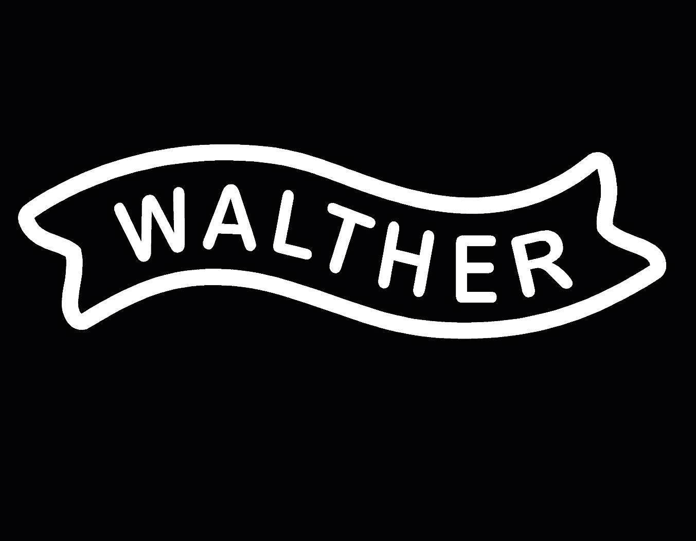 Wholesale Walther Firearms Logo Vinyl Decal Sticker Car