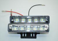 mk 12 LED Super Bright 5050SMD LED Daytime Running Light DRL Kit Fog Day Driving Daylight 100% waterproof E4 DRL LED car fog lights