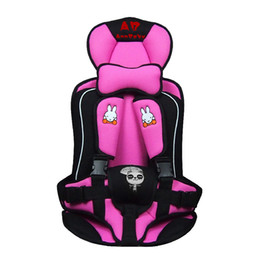 Wholesale Car child safety seat baby car seat cushion portable car seat cover for years old Ergonomics