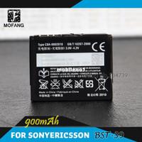 Wholesale BST Battery for Sony Ericsson T707 T707a W508 W508a W518a W908c W910i Z555i Zylo W20i Batterie Bateria Batterij AKKU PIL