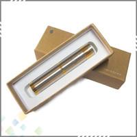 2200mah Non-Adjustable Electronic cigarette Vape Mod Nemesis Mechanical Mod Stainless Steel Brass Nemesis Mod DHL Free