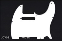 Wholesale New White PLY Electric Guitar Pickguard For Fender Tele Style Electric Guitar Wholesales