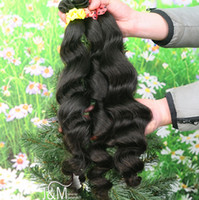 Brazilian Hair hair products wholesale - BrazilianVirgin Hair Extension Queen Hair Products bundles Remy Human Hair Extensions Wavy Loose Wave Natural