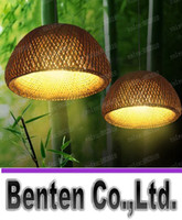 LED bamboo basket - LLFA5603 Southeast Asian Bamboo Garden Chinese creative bamboo chandelier lamp Baskets Inn Restaurant den Chandelier