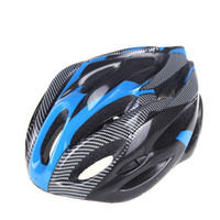 Wholesale 10pcs Sports Carbon Fiber Mountain Road Bike Bicycle Cycling Safety Helmet with Visor Adult for Outdoor Hiking H10177BL