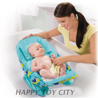 Wholesale Fashion Convenient Foldable Infant Baby Bath Shower Care Chair Tubs Good Quality