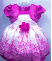 Wholesale retails New Fashion Baby girls Princess wedding party dress kids girl Tulle dresses