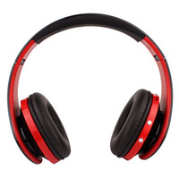 Sports No FM Radio FREE SHIPPING Wireless Digital Stereo Headphone Bluetooth 3.0 MP3 FM Radio DJ Radio Headset Earphone Support TF Card High Quality E9021