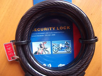 best bicycle cables - Best Price Bike Bicycle Digital Code Password Combination Lock Cable TY532 mm