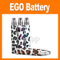 Electronic Cigarette Battery  E cigarette Leopard Print Battery Suit for CE4 CE5 CE6 VIVI NOVA, protank MT3 650mAh 900mAh 1100mAh for e cig lower price selling(0204022)